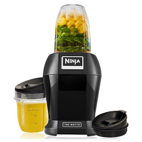 Nutri Ninja Lite 700 Watts Personal Blender with Two Tritan Jars, Black