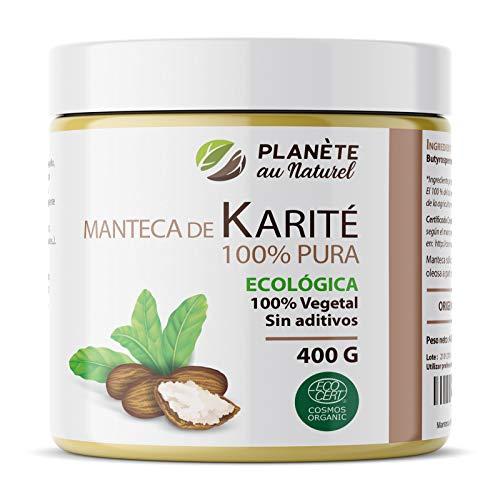 Manteca de Karité Ecológica 400g - 100% Vegetal - Sin adit
