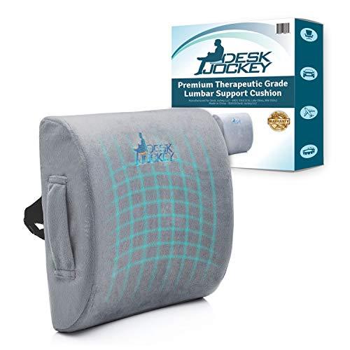 Desk Jockey Lumbar Pillow Support Cushion