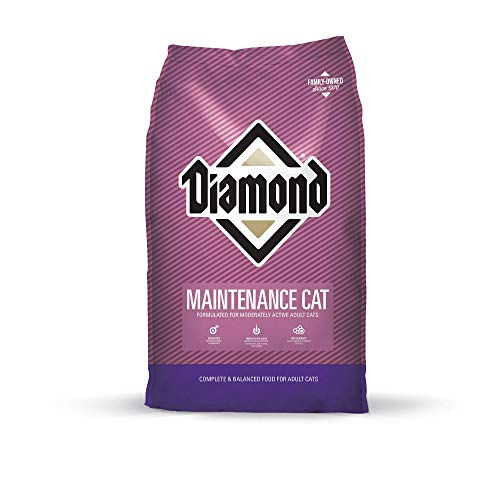 Diamond Premium Recipe Maintenance Complete And Balanced Dry Cat Food For Moderately Active Cats 20Lb