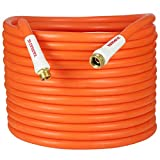 YAMATIC Ultra Flexible & Heavy Duty Garden Hose 5/8 in x 50 ft, Burst 600 PSI, All-Weather, 3/4' GHT Connectors Water Hose