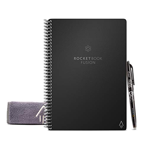 Rocketbook Everlast Fusion, color Infinity Negro Executive (6x8.8')