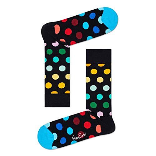 Happy Socks Big DOT Sock Calze, Multicolore (Multicolour 101), 4/7 (Taglia Unica: 36-40) Donna