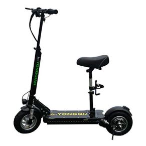 L&WB Scooter eléctrico - Plegable portátil, 1000W hasta 120 Millas de Largo y 55 mph, Coche de batería pequeña Plegable…