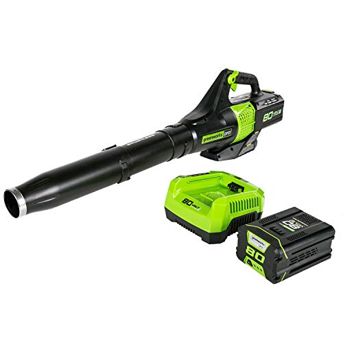 Greenworks BL80L2510 80V Jet Electric Leaf Blower (Renewed)