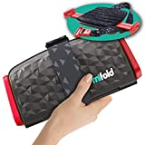 New mifold Comfort Grab-and-go Car Booster Seat- 3X Thicker Cushion! Compact and Portable for Every...