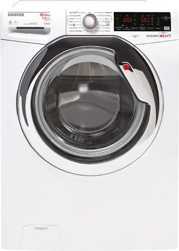 Hoover WDXOA 6106AH-01 Lavasciuga, 10/6 kg, 1600 rpm, NFC, Bianco