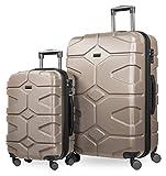 HAUPTSTADTKOFFER - X-Kölln - Set de 2 Valises rigides Bagage Trolley 4...