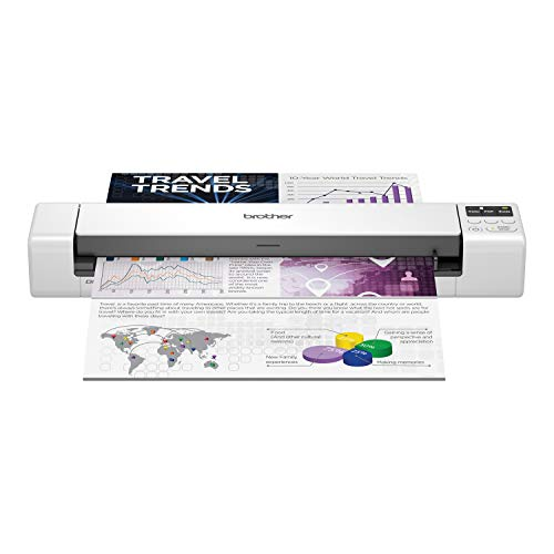 Brother DS-940DW Duplex and Wireless Compact Mobile Document Scanner