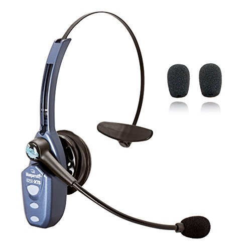 BlueParrott B250 XTS Bluetooth Headset - for Noisy Environments, Road Warriors, Truckers - All-Day Talk Time, Audifonos Inalambrico Bluetooth