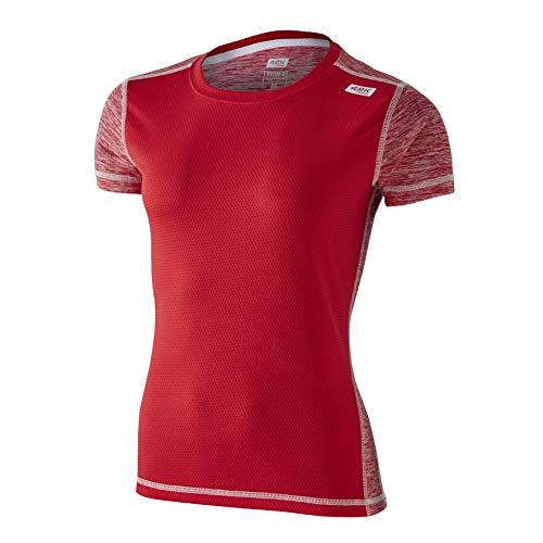 42K RUNNING - Maglietta tecnica 42k XION2 da donna., Donna, rosso, L