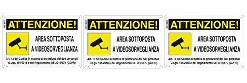 ZONA DE LETREROS SUJETOS A VIDEO VIGILANCIA ZONA DE VIDEO VIGILANCIA DE PVC (3)
