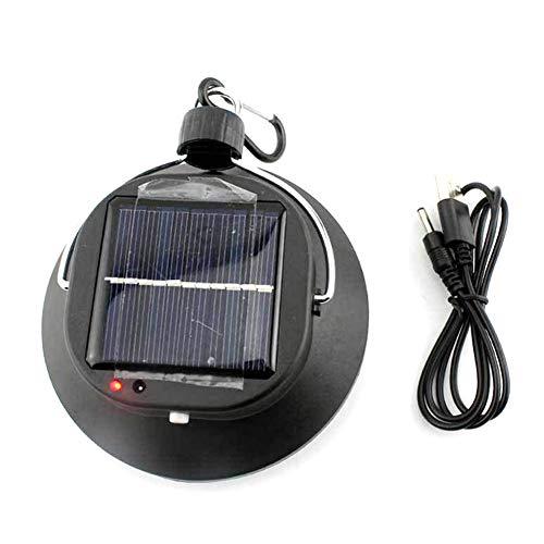 Jorzer Camping Solaire Lumières, Camping Lanterne LED Lampe De Nuit USB...