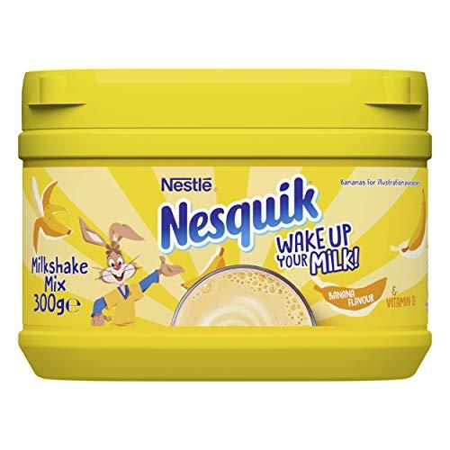 Nesquik Banana en Polvo para Bebida - Paquete de 10 x 300 gr