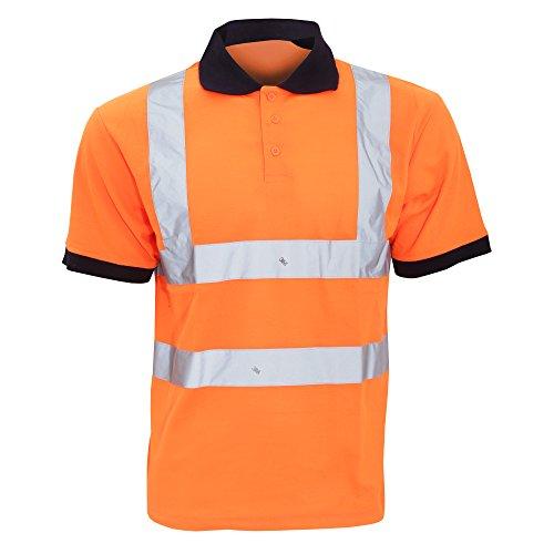 Yoko - Polo/Camiseta/Camisa de Seguridad de Alta Visibilidad