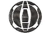 SSK カーボンタンクキャップパッド KAWASAKI VERSYS-X 250 NINJA250 2018- NINJA400 2018- NINJA650 2017- Z650 2017- Z900 2018- CTCPKA02