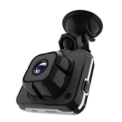 SCOSCHE DDVRS0916G-SP HD DVR Front Lens Suction Cup Dash Camera with 16GB Micro-SD Card, 12V Power Adapter and USB Cable for Most Cars, Trucks and SUV's
