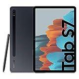Samsung Galaxy Tab S7 Tablet S Pen, Snapdragon 865 Plus, Display 11.0' WQXGA LTPS, 128GB Espandibili fino a 1TB, RAM 6GB, Batteria 8.000 mAh, WiFi, Android 10, Mystic Black [Versione Italiana]