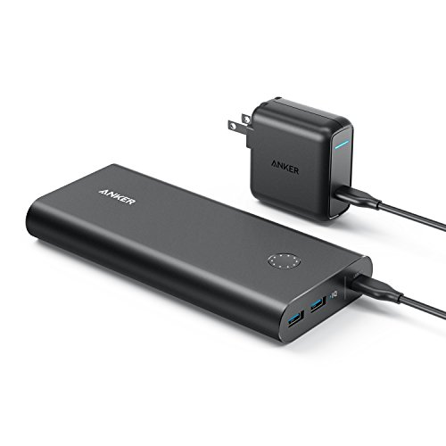 Anker PowerCore+ 26800 PD with 30W Power Delivery Charger, Portable Charger Bundle for iPhone X / 8, Nexus 5X 6P, LG G5 & USB Type-C Laptops (e.g. 2016 MacBook) Power Delivery Support