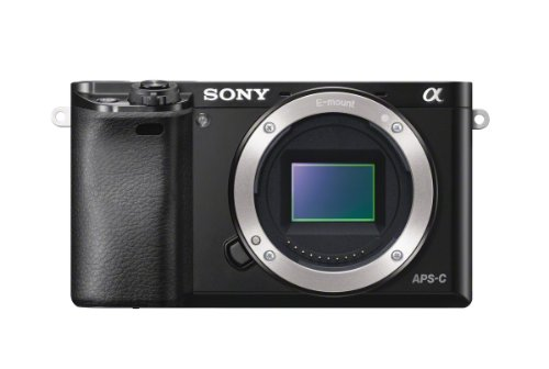 Sony Alpha 6000 - Fotocamera Digitale Mirrorless ad Obiettivi Intercambiabili, Sensore APS-C, Video AVCHD, Eye AF, ILCE6000B, Nero