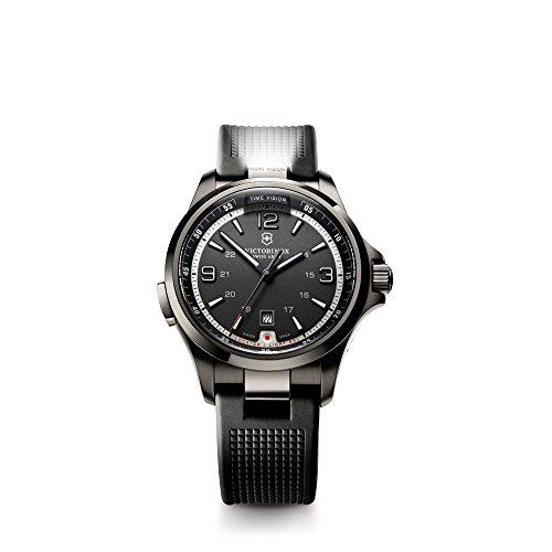 Victorinox Swiss Army Herren-Armbanduhr XL Night Vision Analog Quarz Kautschuk 241596