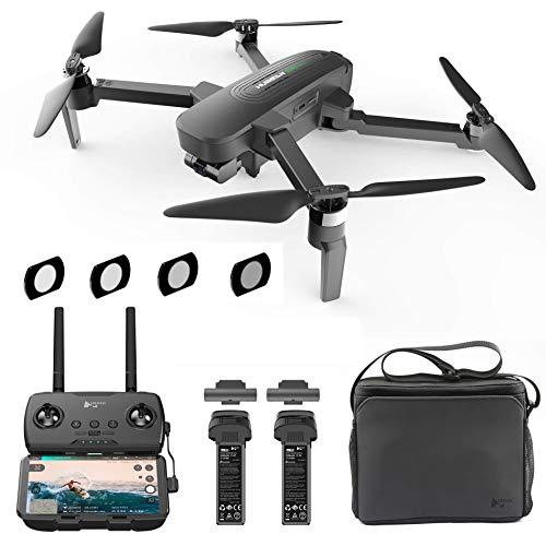 Hubsan Zino PRO Plus 4K Camera con Gimbal a 3 Assi Drone Pieghevole 8KM 43 Minuti App Controllo (Versione Portatile + ND Filtro)