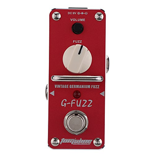 Guitar Effect Pedal AGF-3 G-FUZZ Vintage Germanium Fuzz Guitarra Effect Pedal Mini Analogue with True Bypass