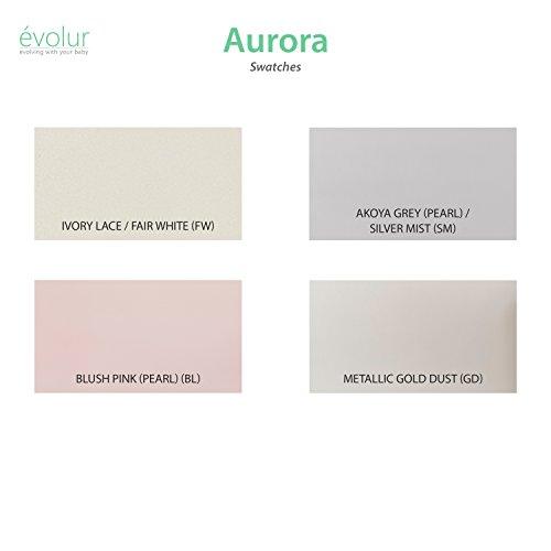 Product Image 14: Evolur Aurora 5-in-1 Convertible Crib, Blush Pink Pearl