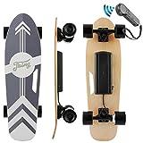 Nesaila Skateboard électrique 70 cm, Longboard en érable 7 Couches avec...