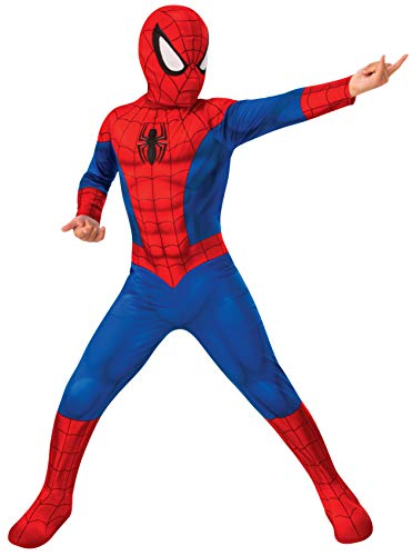 Rubies- Disfraz Spiderman Classic Inf, Color Red/Blue, M (702072-M)