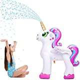JOYIN Inflatable Unicorn Yard Sprinkler, Alicorn/ Pegasus Lawn Sprinkler for Kids (4 Feet) (Toy)