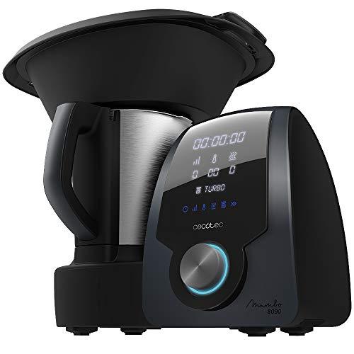 Cecotec Robot de Cocina Multifunción Mambo 8090, Cuchara MamboMix, 30...