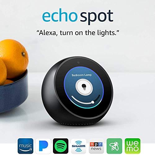 Product Image 19: Echo Spot - Smart Alarm Clock with Alexa - Black
