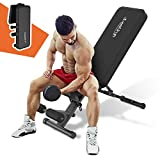 Weight Bench Press Adjustable Sit Up Flat Incline Decline Workout Bench Foldable Strength Training Benches for Home Gym