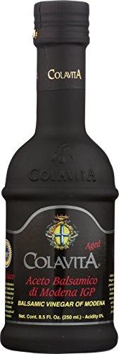 Colavita Aged Balsamic Vinegar of Modena IGP, 3 years, 8.5 Floz, Glass Bottle