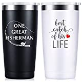 Wedding Anniversary for Couple Friend Lovers Cups Stainless Steel Wine Tumbler Travel Mug with Straw and Lid,2 Pack (4.blackwhite)