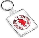 1 carte de voyage de la Suisse avec clé IP02 - Cadeau pour maman et papa -...