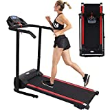 Rpvati 2.0HP Folding Electric Treadmill for Home, 1100W Electric Folding Treadmill with Incline 12 preset Programs, Motorized Fitness Exercise Machine for Home Gym, Max 300 Lbs Capacity - US Spot