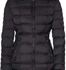 Nautica Women's Water-Resistant Puffer Jacket