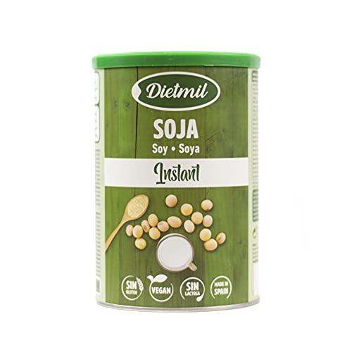 Dietmil - Soja Calcium Instant Bio, Bebida De Soja En Polvo,