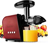 KOIOS Juicer, Slow Masticating Juicer Extractor with Reverse Function,...