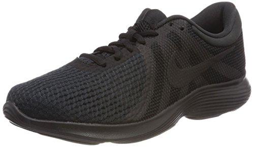 Nike Damen WMNS Revolution 4 EU Laufschuhe, Schwarz (Black / Black 002), 39 EU
