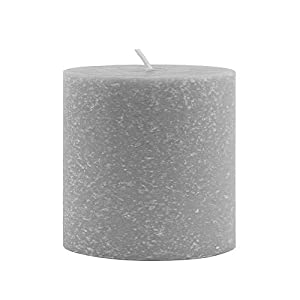 MADE IN THE USA: Unscented pillar candle made in Medina, Ohio and crafted with the finest blend of beeswax and other premium natural waxes; contains no petroleum-based or paraffin waxes DIMENSIONS: Measures 3-inches diameter and 3-inches tall; burns ...