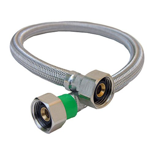 LASCO 10-0417 1/2-Inch IPS by 1/2-Inch IPS by 16-Inch Water Supply Connector