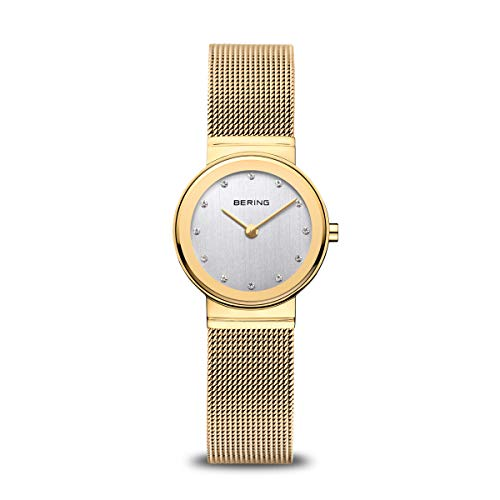 BERING Damen-Armbanduhr Analog Quarz Edelstahl 10126-334