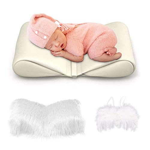 Newborn Photography Prop Baby Butterfly Posing Pillow Basket, and...