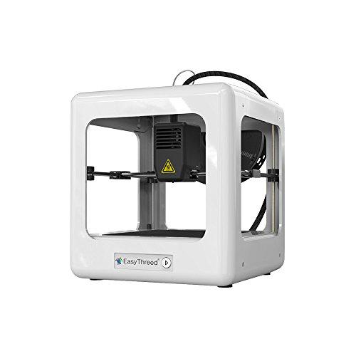 Walmeck EasyThreed Nano Entry Level Desktop 3D Printer for Kids Students No Assembling Quiet