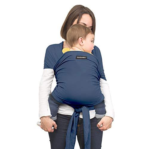 Suavinex 400869 Baby Wrap Fascia Portabebè Elastica - Blu
