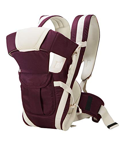 Chinmay Kids 4-in-1 Adjustable Baby Carrier Cum Kangaroo Bag/Baby Carry Sling/Back/Front Carrier for...