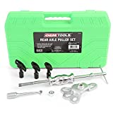 OEMTOOLS 27202 Rear Axle Puller Set   Pull Rear Axle & Bearing for Axle Replacement & Repair   Slide-Hammer Powered for Extra Pull, Works When Other Tools Don't   Includes Instructions & Carrying Case